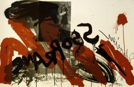 Litografía Vostell - Sans titre 2