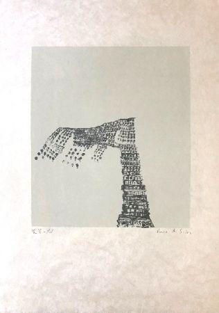 Litografía Vieira Da Silva - Sans titre 3