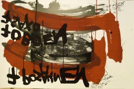 Litografía Vostell - Sans titre 4