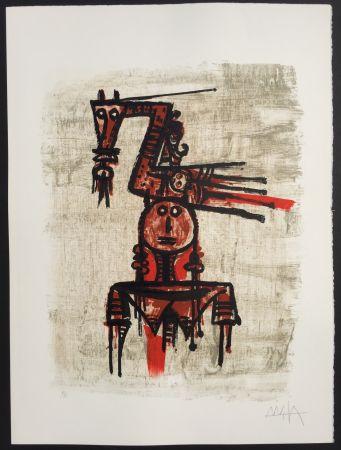 Litografía Lam - Sans Titre (7604)