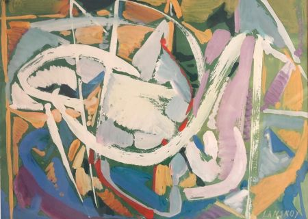 Sin Técnico Lanskoy - Sans titre  (c. 1960)