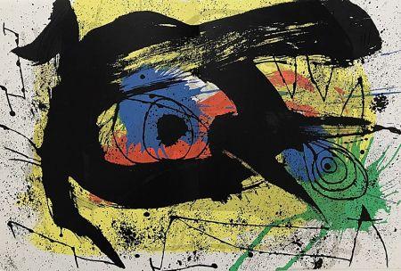 Litografía Miró - Sans Titre I