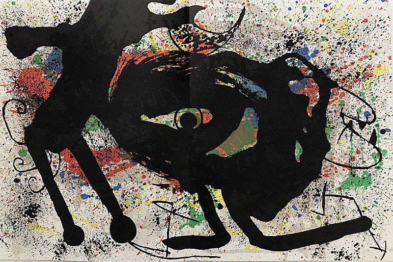 Litografía Miró - Sans Titre II