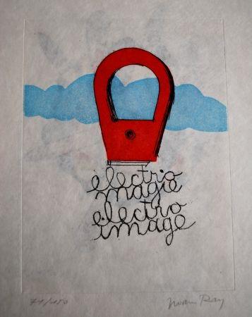 Aguafuerte Y Aguatinta Ray - Sans titre  (pour Electro-magie)