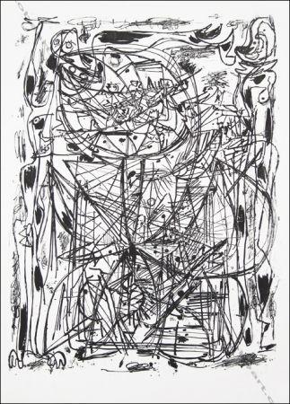 Litografía Jorn - Sans Titre / Untitled.