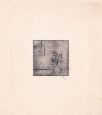 Grabado Benoit - Sans titre [Vase]