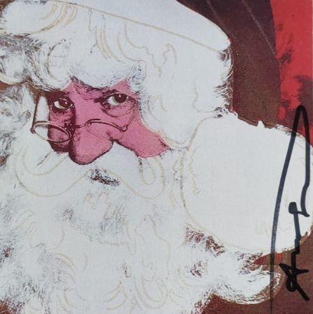 Serigrafía Warhol - Santa Claus