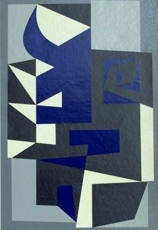 Serigrafía Vasarely - Santorin