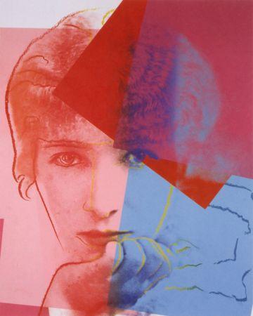Serigrafía Warhol - Sarah Bernhardt (FS II.234) Trial Proof