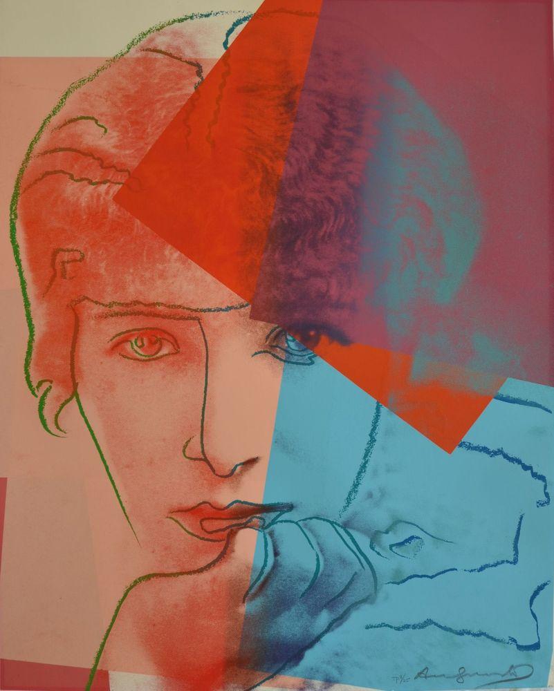 Serigrafía Warhol - Sarah Bernhardt TP