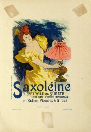 Litografía Cheret - Saxoleine