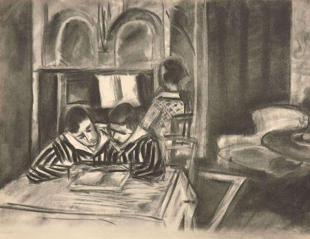 Colografía Matisse - SCENE D'INTERIEUR, 1933