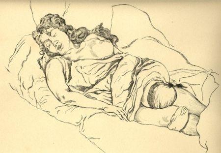 Libro Ilustrado Vrieslander - Schlafende Frauen / Sleeping Women