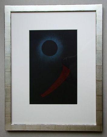 Litografía Kandinsky - Schwarze Sonne, 1940