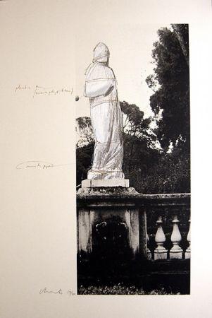 Litografía Christo - Schweiz Verpackte Venus-Villa Borghese