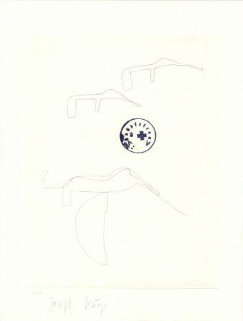 Litografía Beuys - Schwurhand: Eiszeit  Normalausgabe
