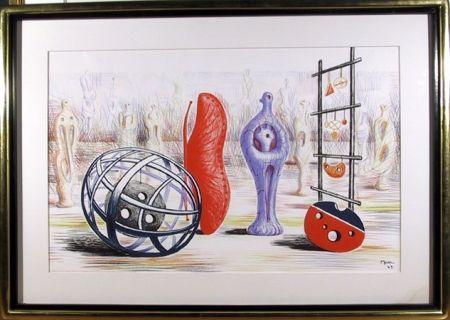 Litografía Moore - Sculptural Objects