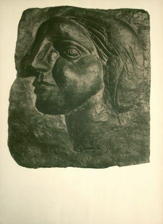 Litografía Picasso - Sculptures, dessins (before lettering)