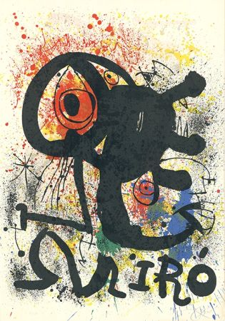 Litografía Miró - Sculptures et céramiques