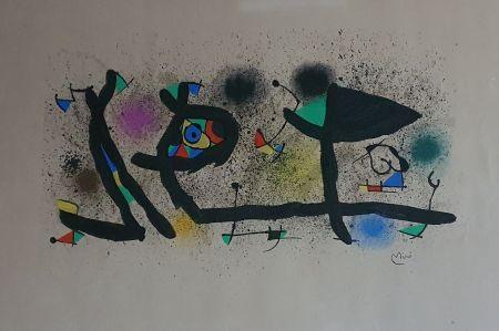 Litografía Miró - Sculptures (III)