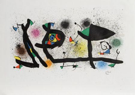 Litografía Miró - Sculptures (M. 950)