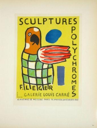 Litografía Leger - Sculptures Polychromes