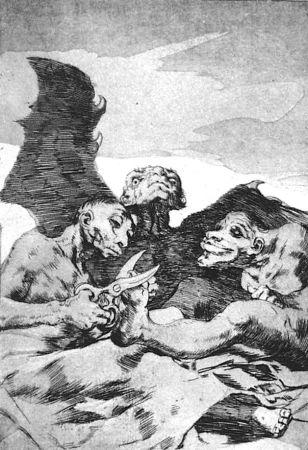 Aguafuerte Y Aguatinta Goya - Se repulen
