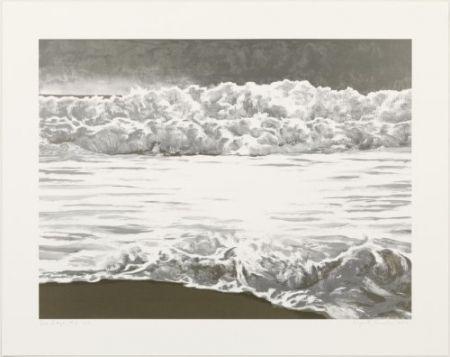 Litografía Gornick - Sea edge