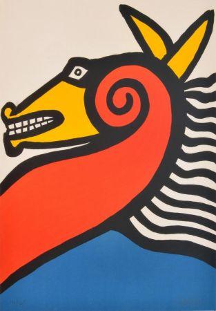 Litografía Calder - Sea Horse