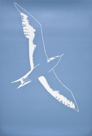 Linograbado Katz - Seagull