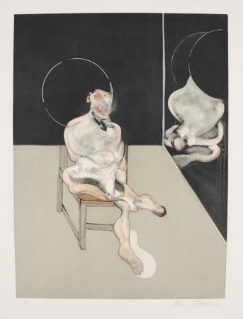 Aguafuerte Y Aguatinta Bacon - Seated Figure