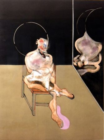Grabado Bacon - Seated Figure