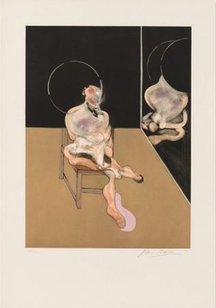 Aguatinta Bacon - Seated Figure 1983
