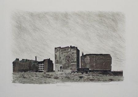 Litografía Kuschnerus - Sebastianstrasse