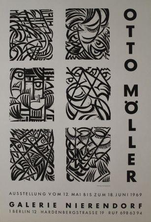 Grabado En Madera Möller - Sechs Original-Holzschnitten zu Dostojewskij: