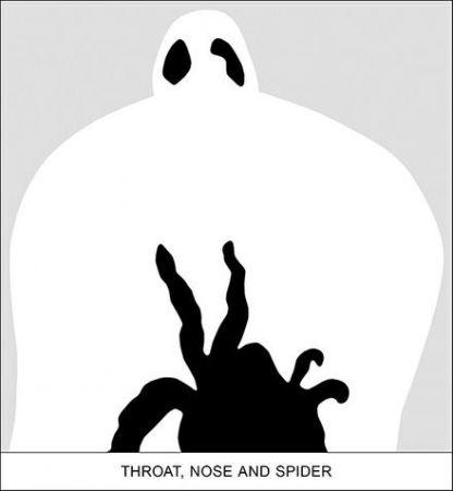 Estampa Numérica Baldessari - SEDIMENT: THROAT, NOSE AND SPIDER