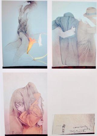 Litografía Bruni - Selam