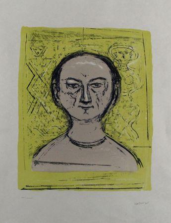 Litografía Campigli - Selbstbildnis / Self-Portrait
