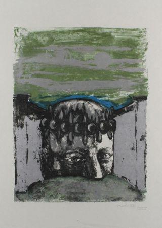 Litografía Vacchi - Selbstbildnis / Self-Portrait