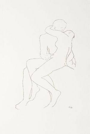 Grabado Duchamp - Selected Details after Rodin