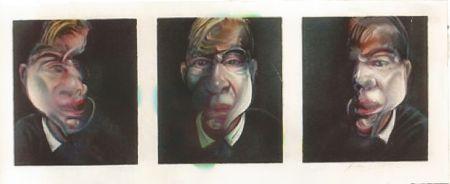 Litografía Bacon - Self-portrait