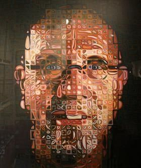 Serigrafía Close - Self Portrait