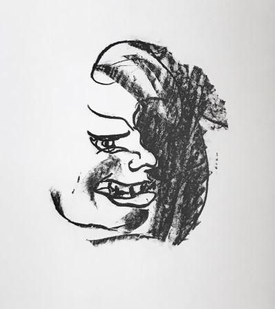 Litografía Francis - Self Portrait