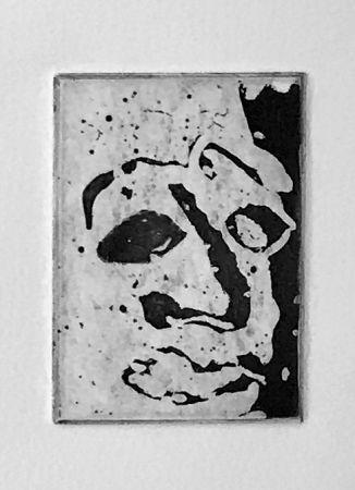 Aguatinta Francis - Self Portrait