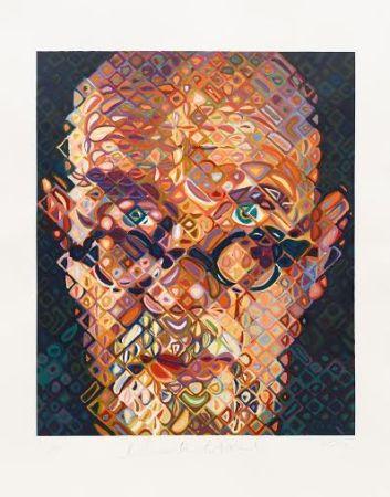 Grabado En Madera Close - Self Portrait 2015