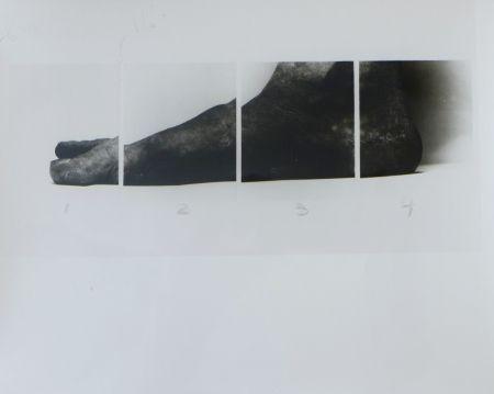 Fotografía Coplans - Selfportrait feet four panels