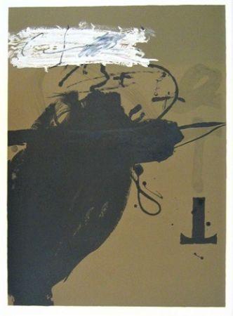 Litografía Tàpies - Senanque 2