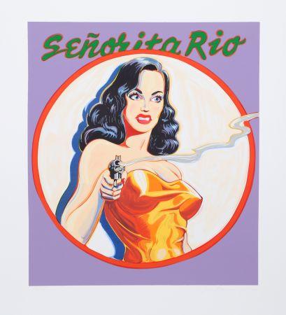 Litografía Ramos - Senorita Rio