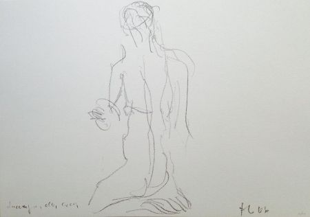 Litografía Fabro - Senza titolo