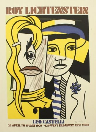 Roy lichtenstein estampas originales litograf as y - Roy lichtenstein obras ...